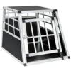 TecTake Alu Hundetransportbox -Diverse Größen- (Single klein) - 1