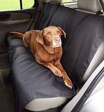 Amazon Basics Auto-Rücksitzabdeckung für Hunde - 1