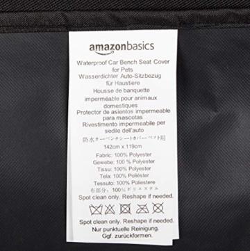 Amazon Basics Auto-Rücksitzabdeckung für Hunde - 4