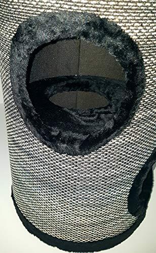 Lemio® Katzentonne Browny Kratzbaum Kratztonne Möbel für Katzen Spieltonne 50cm hoch - (Blackys) - 3