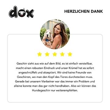 DDOXX Hundegeschirr Air Mesh, Step-In, verstellbar, gepolstert | viele Farben & Größen | für kleine, mittlere & große Hunde | Brust-Geschirr Hund Katze Welpe groß | Katzen-Geschirr klein | Grün, XS - 6