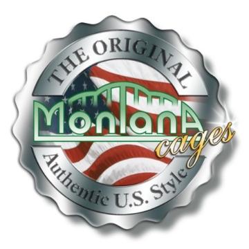 Montana Cages ®   Nagervoliere, Voliere in Wohntrendfarbe und Eiche Optik von Montana - 7
