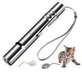 Toozey LED Pointer Katzen Hund Spielzeug Haustier LED Light Licht Pointer mit USB Wiederaufladbar, Bonus Zwei kleine Mäuse Spielzeug - 1