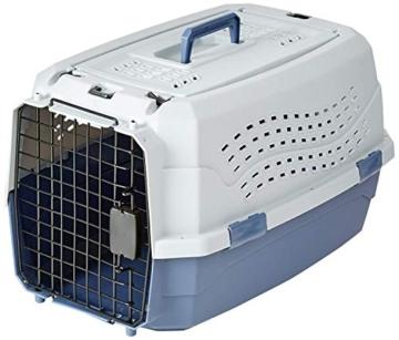 Amazon Basics Transportbox für Haustiere, 2 Türen, 1 Dachöffnung, 58cm - 1