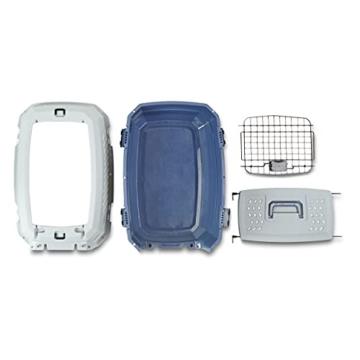 Amazon Basics Transportbox für Haustiere, 2 Türen, 1 Dachöffnung, 58cm - 3