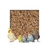 Kieskönig 20kg Buchenholzgranulat Vogelsand Bodengrund Terrariensand Einstreu Terrariumsand Tiereinstreu Körnung Medium 3,0-5,0 mm - 1