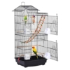 Yaheetech Vogelkäfig mit Vogelspielzeuge Käfigspielzeug Wellensittichkäfig Nymphensittiche Fink-Papageien-Käfig mit Vogeltreppe - 1