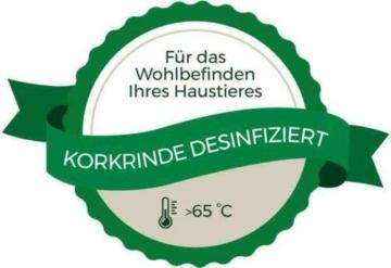 Kork-Deko Korkrinde   Korkröhre   Korktunnel   Baumstammtunnel   gereinigt & desinfiziert ca. 30 cm lang , Ø = 11-14 cm (Innen-Durchmesser) - 10